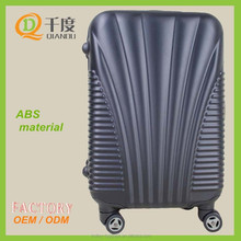 conch design ABS material trolley luggage set