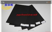 2 side uncoated offset black base paper