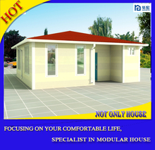 Good quality ready made economic hot sell steel shed prefab house