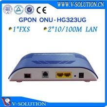 FTTH gpon 1fxs + 2fe ont fiber optic 3g modem wifi router