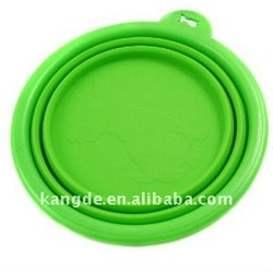 Healthy Diet Silicone Pet Expandable/Collapsible Travel Bowl