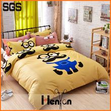 custom print kids bed sheet set
