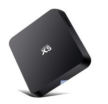 Mx android mini pc smart tv caja 4k*2k cierto reproductor de medios de comunicación, amlogic s802, quad core