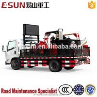 ESUN CLYG-CS500 500L Truck mounted high performance burner asphalt crack filling machine