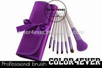 Brand 7pcs Synthetic Hair Mixed Goat Hair Professional Makeup Brush Set halal makeup