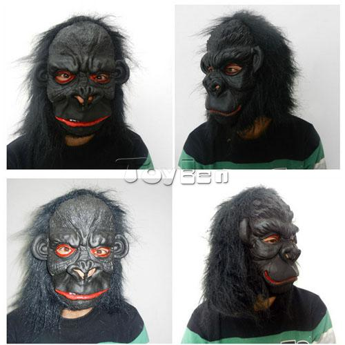 Horror Orangutan Mask for Masquerade Party Halloween Mask Cosplay Mask Latex