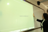 New launched interactive whiteboard for education with finger touch