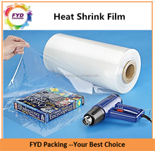 Super Clear Centerfolded plástico encoja POF película del abrigo