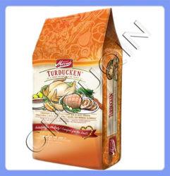 Flat bottom frozen food plastic packing bag for chicken