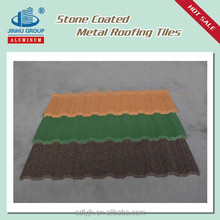 CLASSICAL COLORFUL STONE COATED STEEL ROOFING TILE
