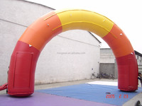 Advertising Arch Inflatable For Event, Outdoor Christmas Arch For Decoration, Lever Arch File