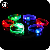 Now Developed Wedding Gifts For Guests Party Item Sounds Activated Led Bracelet