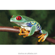 high definition animal logo 3D lenticular postcard