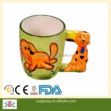 Cartoon Dog animal shape coffee mug