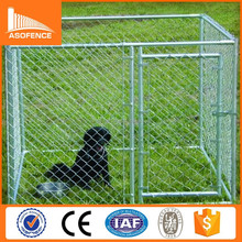 US and Canada popular galvanized iron double dog kennel