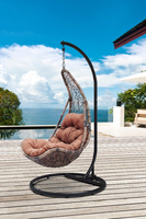 Outdoor rattan hanging chair,outdoor swing sets for adults(Y9085KD)