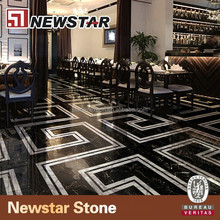 Newstar modern water jet marble designs