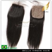 2014 Hot selling virgin brazilian silky straight ACCEPT PAYPAL silk base closure