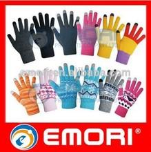 las ventas caliente de la moda smart niños dedo guantes calientes de la moda niños guantes de dedo