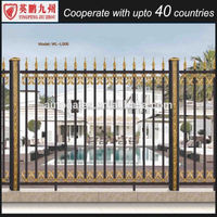 metal fence posts fence gate decorative fence for garden