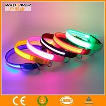 chinese collar shirt/led pet collar/collar for dog