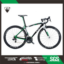 CKT 398 Black Green Taiwan Carbon Fiber Road Racing Bike