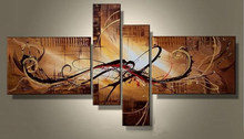 2015 newest design wall decorative oil painting for kids room Abstract group canvas painting