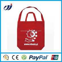 New Designer Foldable Organic Bamboo Fabric Shopping Bag/designer cotton shopping bag/handmade cotton fabric shopping bag