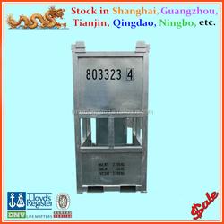 DNV 2.7-1 standard bottle shaped offshore container 5ft gas cylinder rack