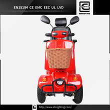 vehicles electrical BRI-S02 yiwu adult fitness 4 wheel scooter