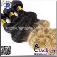Body Wave Two Tone Brazilian Hair Weft honey brown hair colors