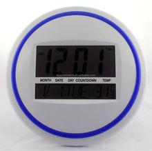 Large size electric digital led digital clock wall mounted wall clock