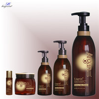 Good quality liagrxin moroccan argan oil shampoo/ natural 100% argan oil conditioner 300ml 500ml for wholesale/ oem/ private lab