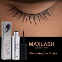 MAXLASH Natural Eyelash Growth Serum (Synthetic Hair Material and Hand Made Type silk mink lashes)