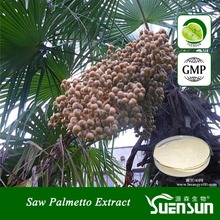 Factory in stock 25% Fatty acid Saw Palmetto Extract