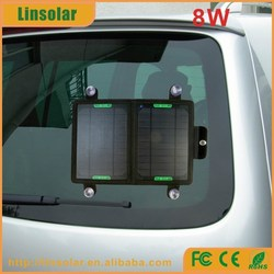 Outdoor or indoor portable folding solar panel, solar panel carry bag for mobile phone,laptop,table PC