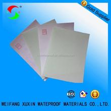 non-woven polyester mat for modified bitumen membrane