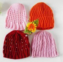 Wholesale Customized Colorful Woven Knitted Beanie Hat