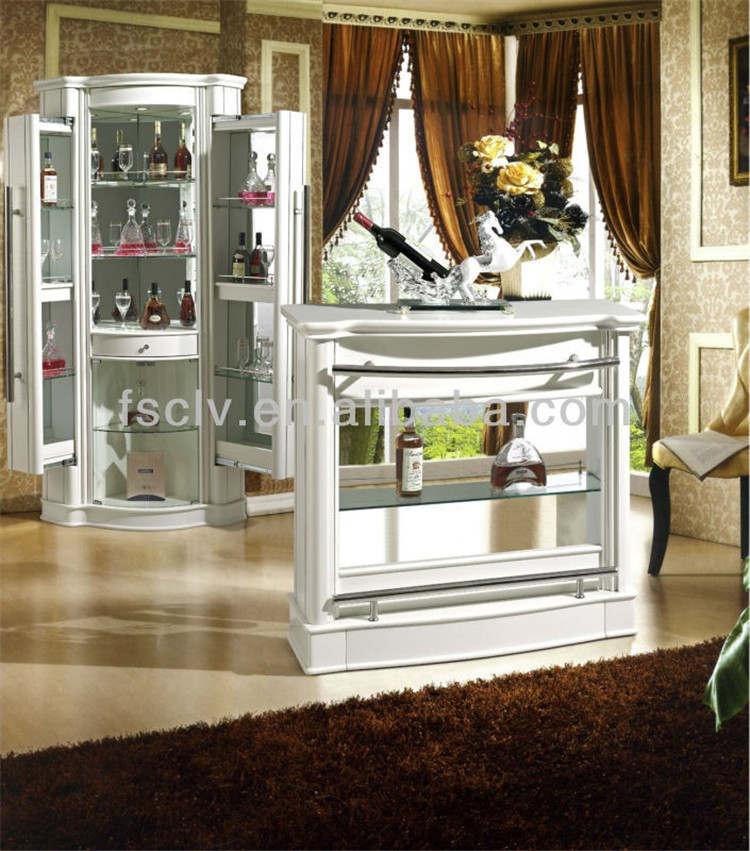 Mobili soggiorno moderno casa bancone frigo bar design con tavoli da bar tavolo in legno id - Mobili bar per casa ...
