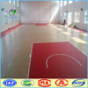 Durable laminate PVC wood used basketball flooring