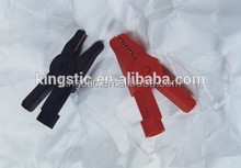 Crocodile clips/CR030-12 Red,CR030-14 Black/Plastic covered jaws