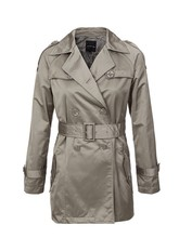 Autumn Winter Womens Slim Long Sleeve Jacket Outerwear Trench Coat 2014