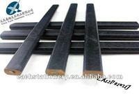 2015 hotsale 7'' black paint octagonal carpenter pencil with logo available