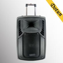 professional DJ sound /karaoke speaker/active stage speaker with bluetooth