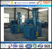 Small size New size solid, plastic treatment incinerator animal body , industrial, hospital waste Incinerator