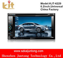 cheap price 2 Din Car GPS Navigation iPod Radio DVD Player Double DIN Stereo BT Touch TV