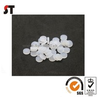 Round rubber thin flat stopper washers