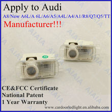 car parts wholesale laser logo led door ghost shadow projector lights kits apply to audi