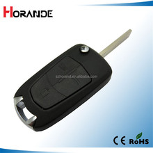 Horande car key for Opel Vauxhall/Opel Vectra Astra Corsa Meriva Tigra Signum No Chips Inside 3 button opel verctra flip keyfob
