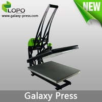 Galaxy 40*50 flat heat press sublimation printing for phone cases and t-shirt machine